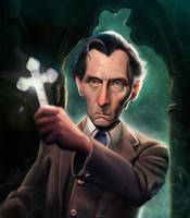 Peter Cushing by Cowboy-Lucas