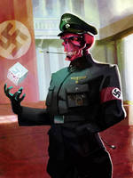 Red Skull by Cowboy-Lucas