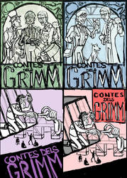 Sketches-Grimm's Fairy Tales by Cowboy-Lucas