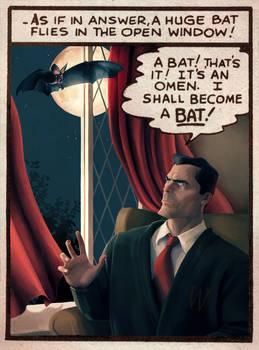 'I shall become a BAT'