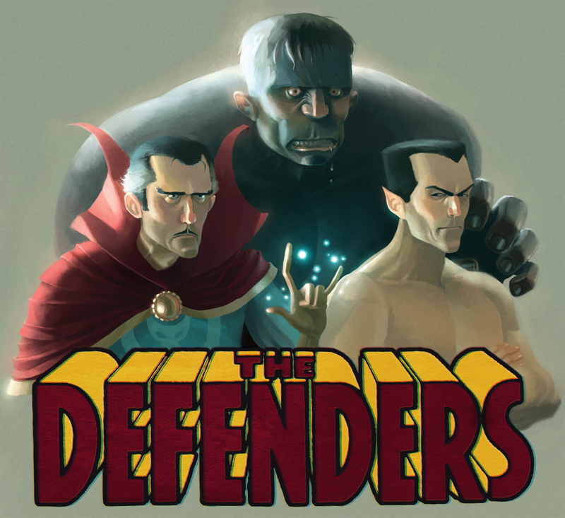 The Defenders by Cowboy-Lucas