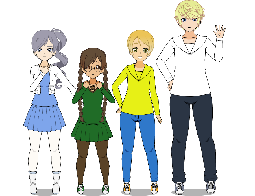 Weather Control Pretty Cure Redesigns by SugaryDiamond
