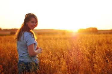 sunset portrait by vengativo