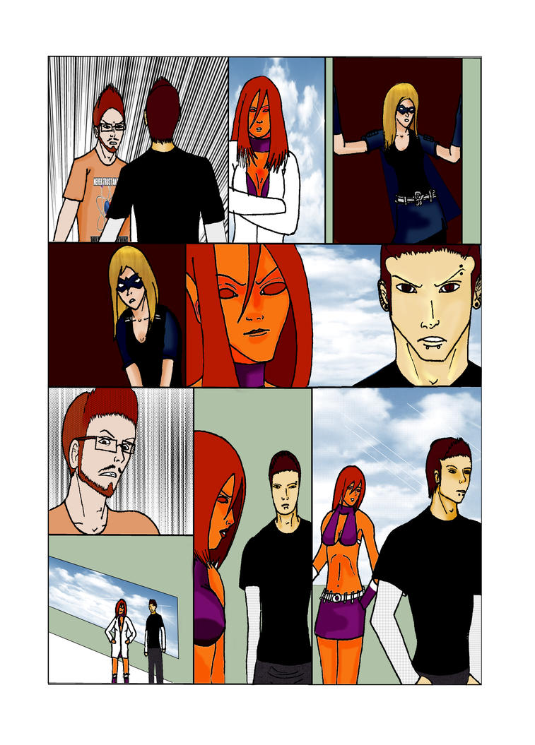 Comic Issure 10 Page 01 (PREVIEW) by SORR93