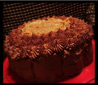 German Chocolate Cake by SORR93