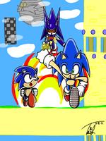 -Sonics Sky Sanctuary Contest- by Yukiko-Snowflake