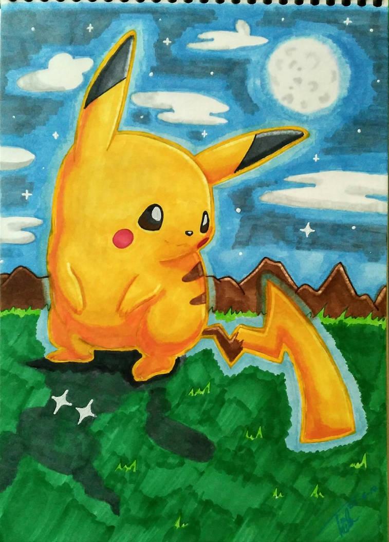 Pikachu Night
