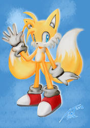 Tails Painting
