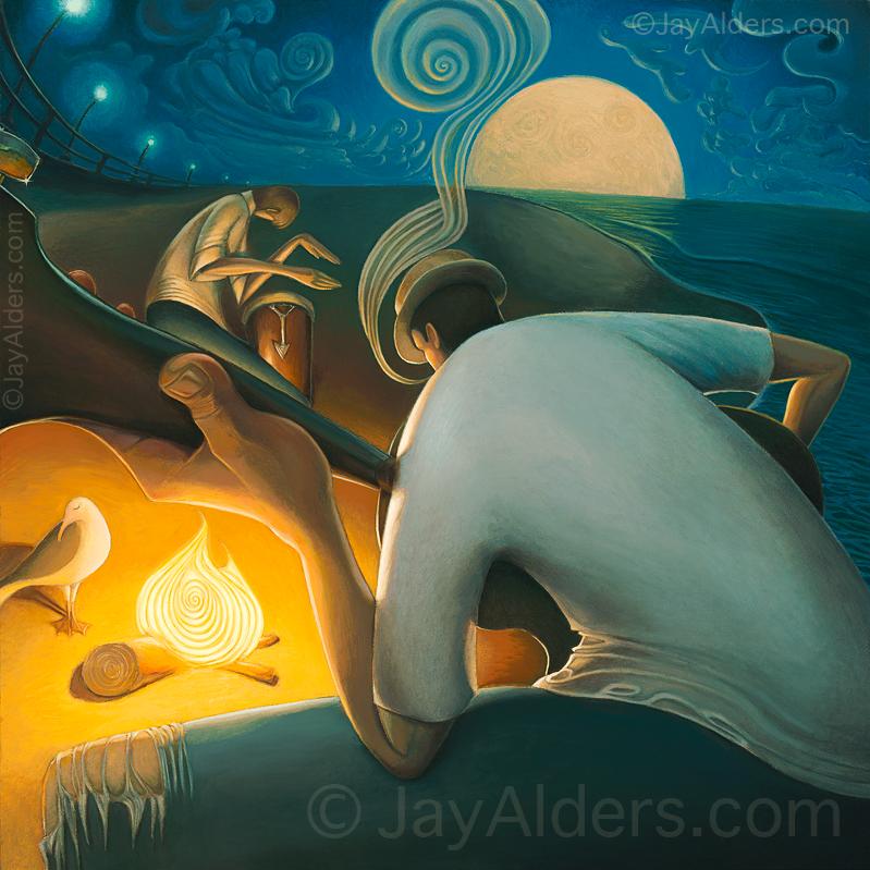 Burning Inspiration by jayalders