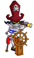 Robot pirate by GothiCraft