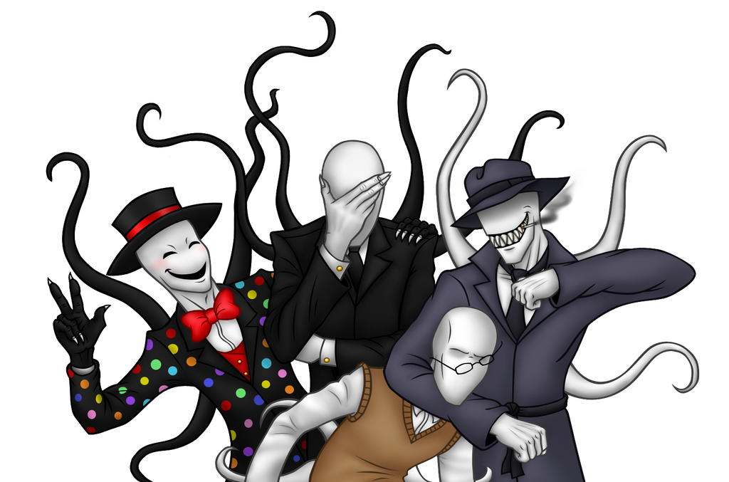 Slender bros by Gothicraft on DeviantArt