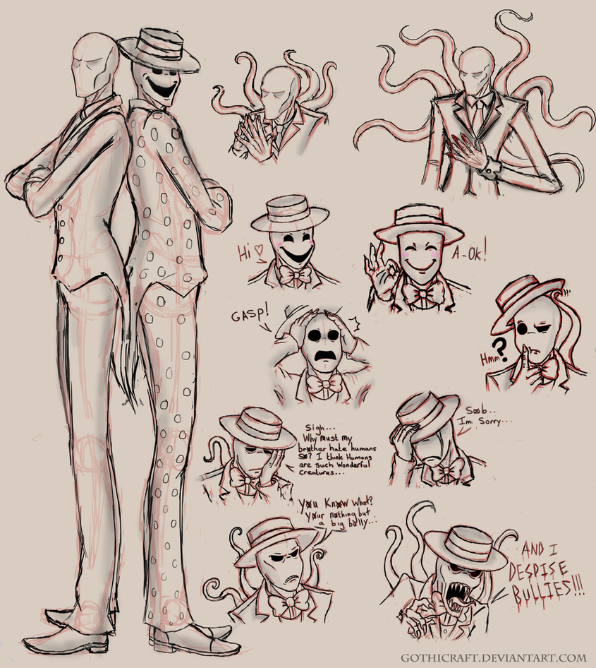 Splendorman Sketches by Gothicraft