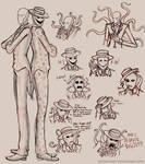 Splendorman Sketches
