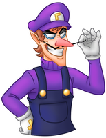 Waluigi by GothiCraft