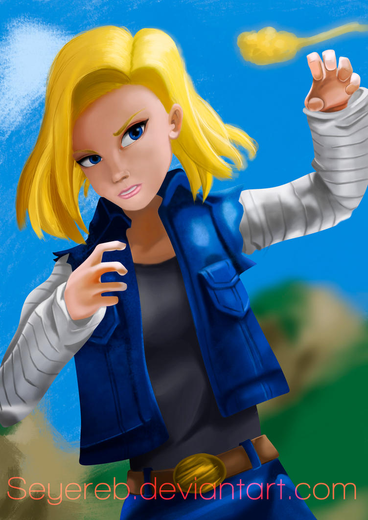 Android18 by Seyereb