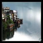 Town on Lake by viktoer
