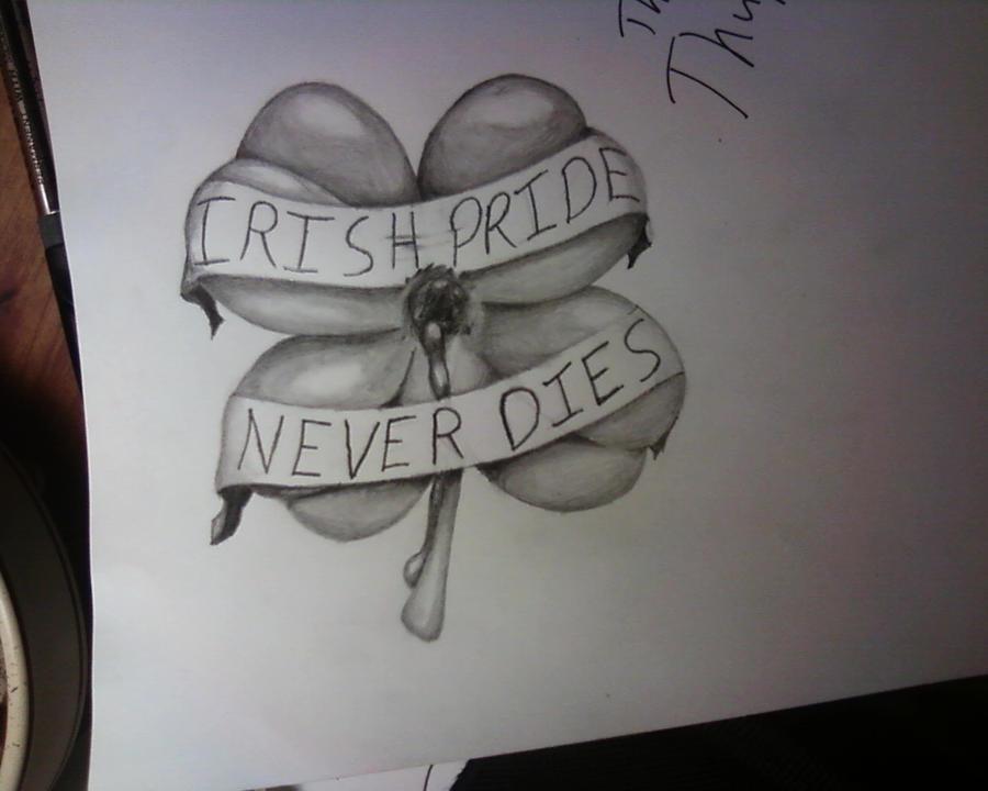 irish pride my tattoo design by stampedeofxflames on deviantart. Black Bedroom Furniture Sets. Home Design Ideas