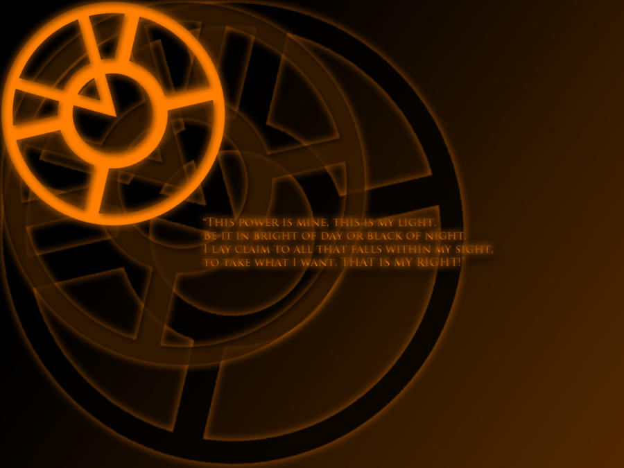 Orange lantern corps wallpaper - photo#7