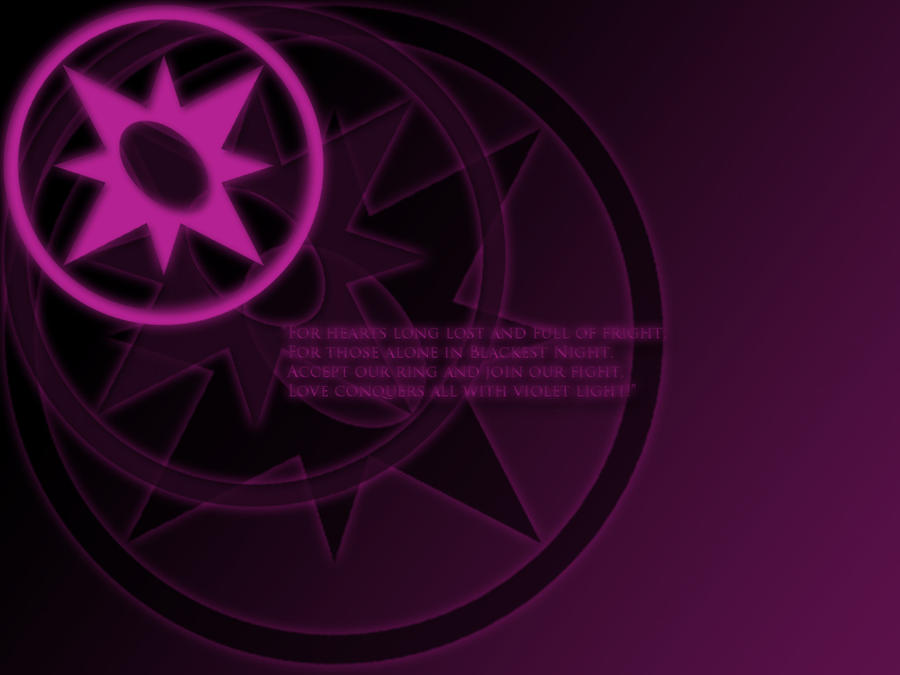 Violet Lantern Oath Wallpaper by stampedeofxflames