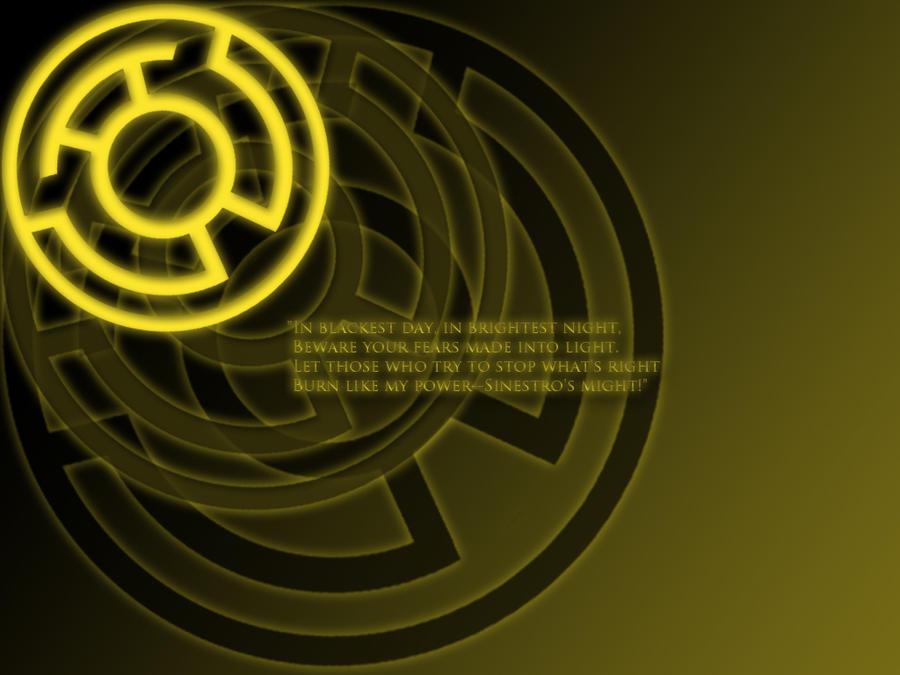 Yellow Lantern Oath Wallpaper by stampedeofxflames on ...