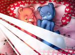 Sleeping bears (Sony 2019 version) by reijisakamoto
