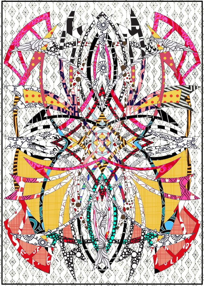 Abstractal doodler backgraund by cabronArt