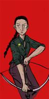 Katniss by CassieForgen
