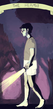 Hannibal Tarot - The Hermit