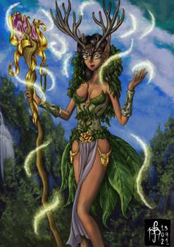 Laisanna, Lady of Nature and Life of Valathar