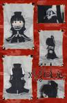 xxxHolic - Yuko Chibi Plushie by animeyume06