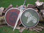 Skyrim Shields And Dragonbone Sword