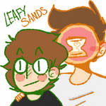 Why do I ship this? Idk #LeafySands