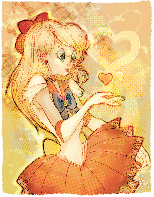 Sailor Venus by Ebae