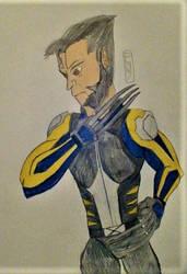 Days Of Future Past Wolverine by MaleVolentSamSon