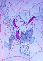 The Ghost Spider by MaleVolentSamSon