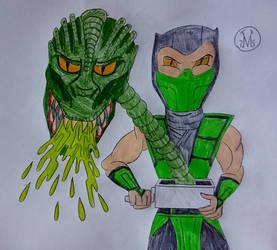 Reptile On Mortal Kombat Fans Deviantart