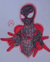 (Miles Morales) Spider-Man  by MaleVolentSamSon