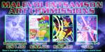 MaleVolentSamSon Art Commissions by MaleVolentSamSon