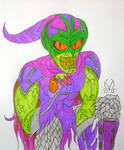 Green Goblin Redesign (My Version)  by MaleVolentSamSon