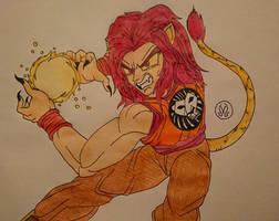 Simba The Lion Saiyan