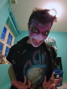 MaleVolent SamSon Halloween Makeup