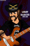 Lemmy Kilmister Strumming The Bass by MaleVolentSamSon