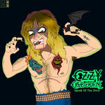 Ozzy Osbourne Eating A Bat's Head by MaleVolentSamSon
