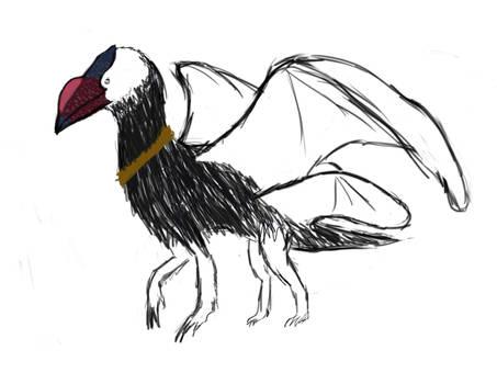 Domesticated Rabbit Raven