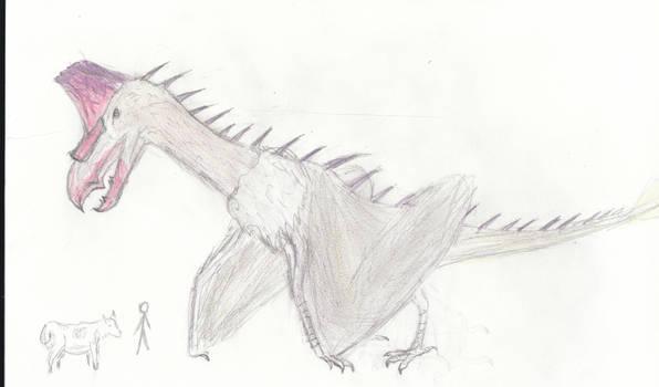 Petrel/Azhdarchid Monster thing