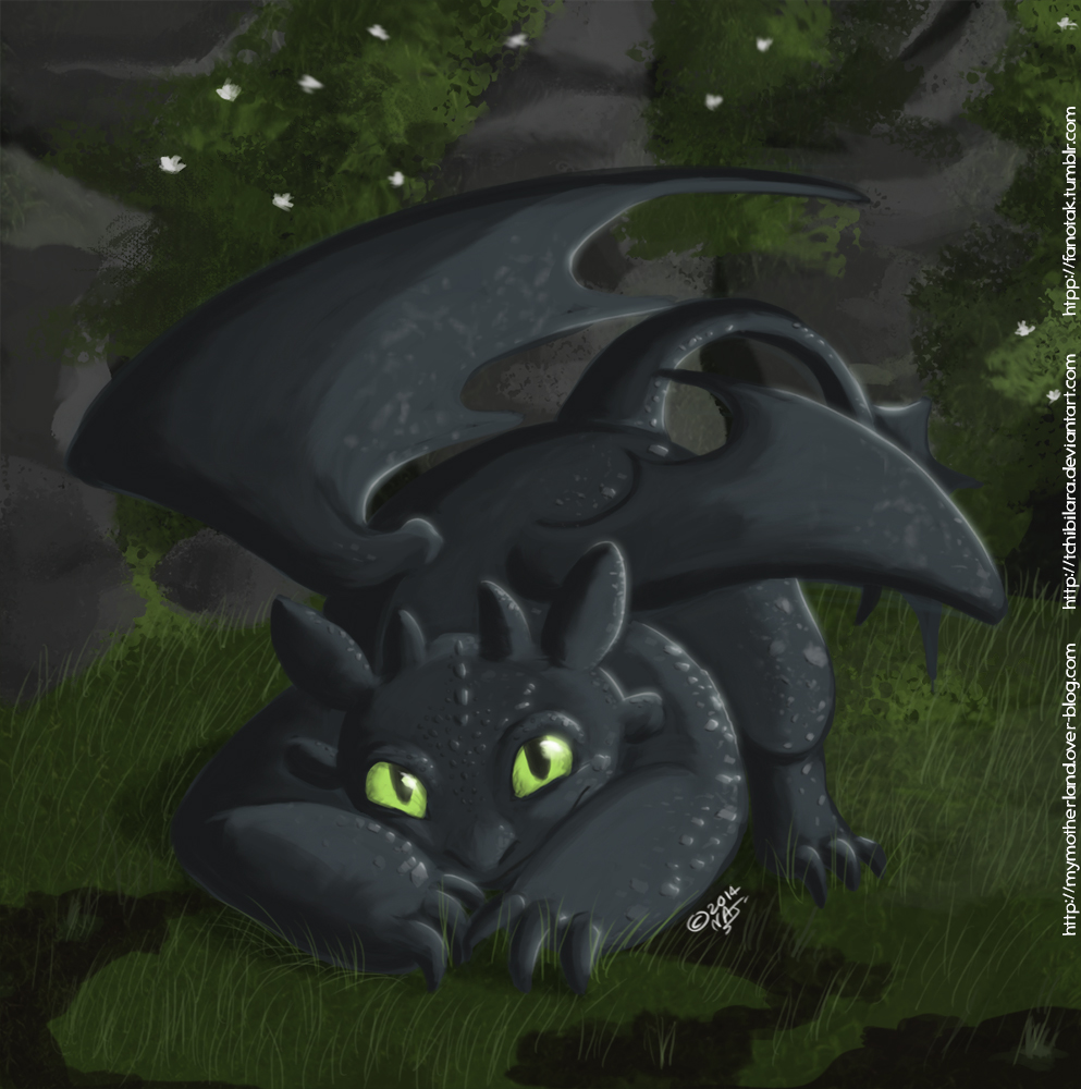 Lil' Toothless by TchibiLara