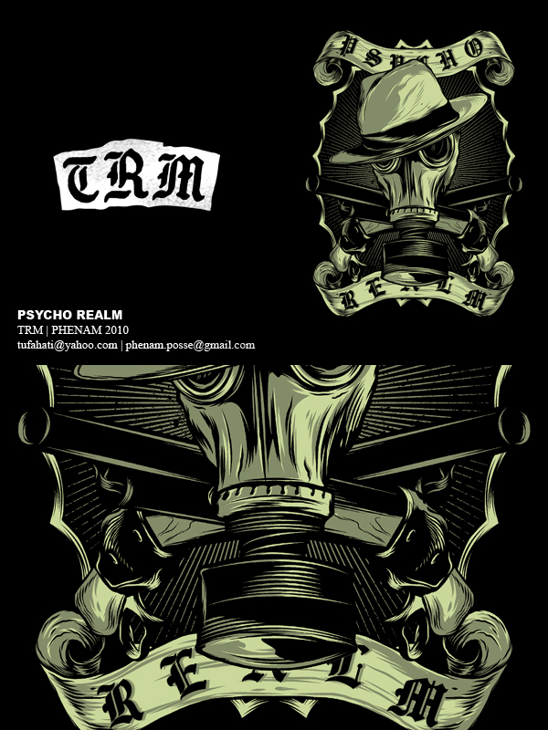 Psycho Realm Ga... Psycho Realm Gas Mask Meaning