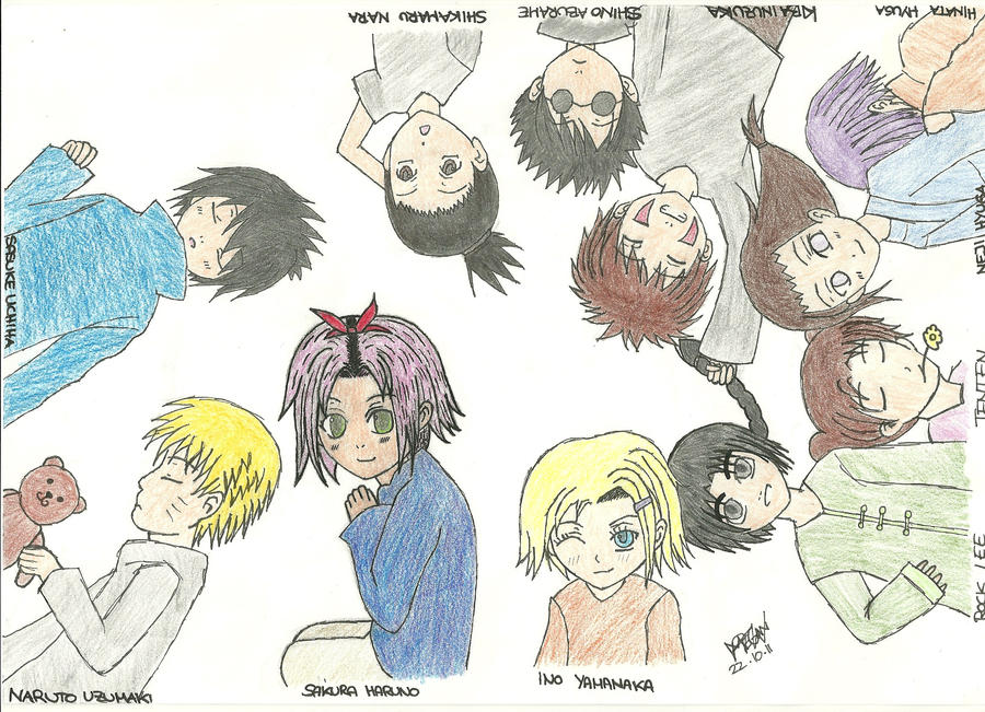 Naruto characters  kids  by MeganCh on deviantARTNaruto Characters As Animals