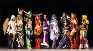 WOW! - World of Warcraft Cosplay group