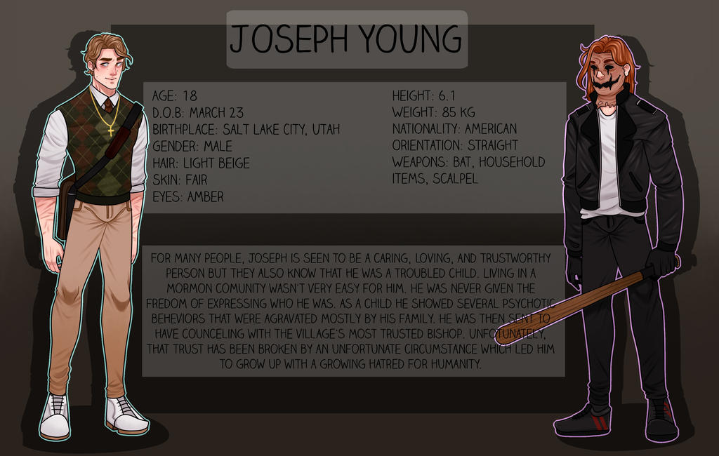 Creepypasta Oc Joseph Young Old By Satiricalkat On